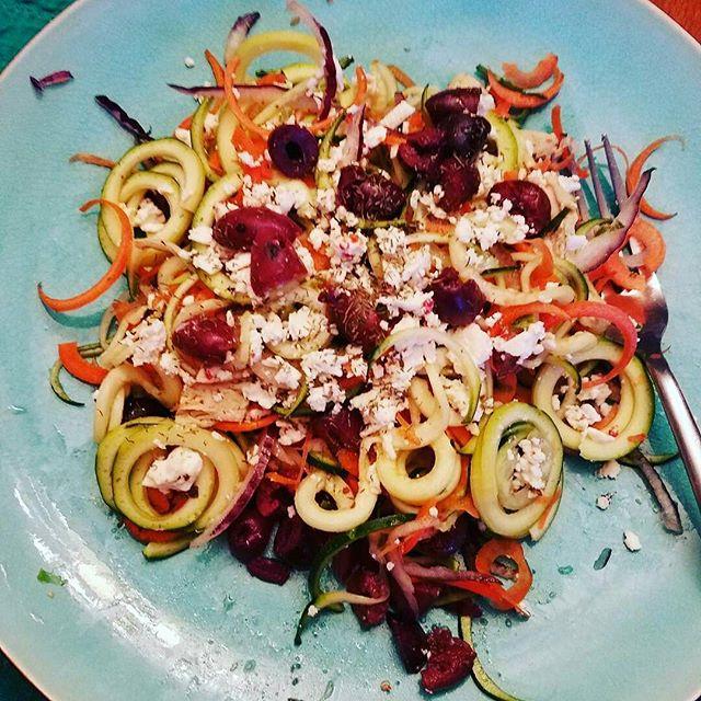 Salata greceasca reinterpretata