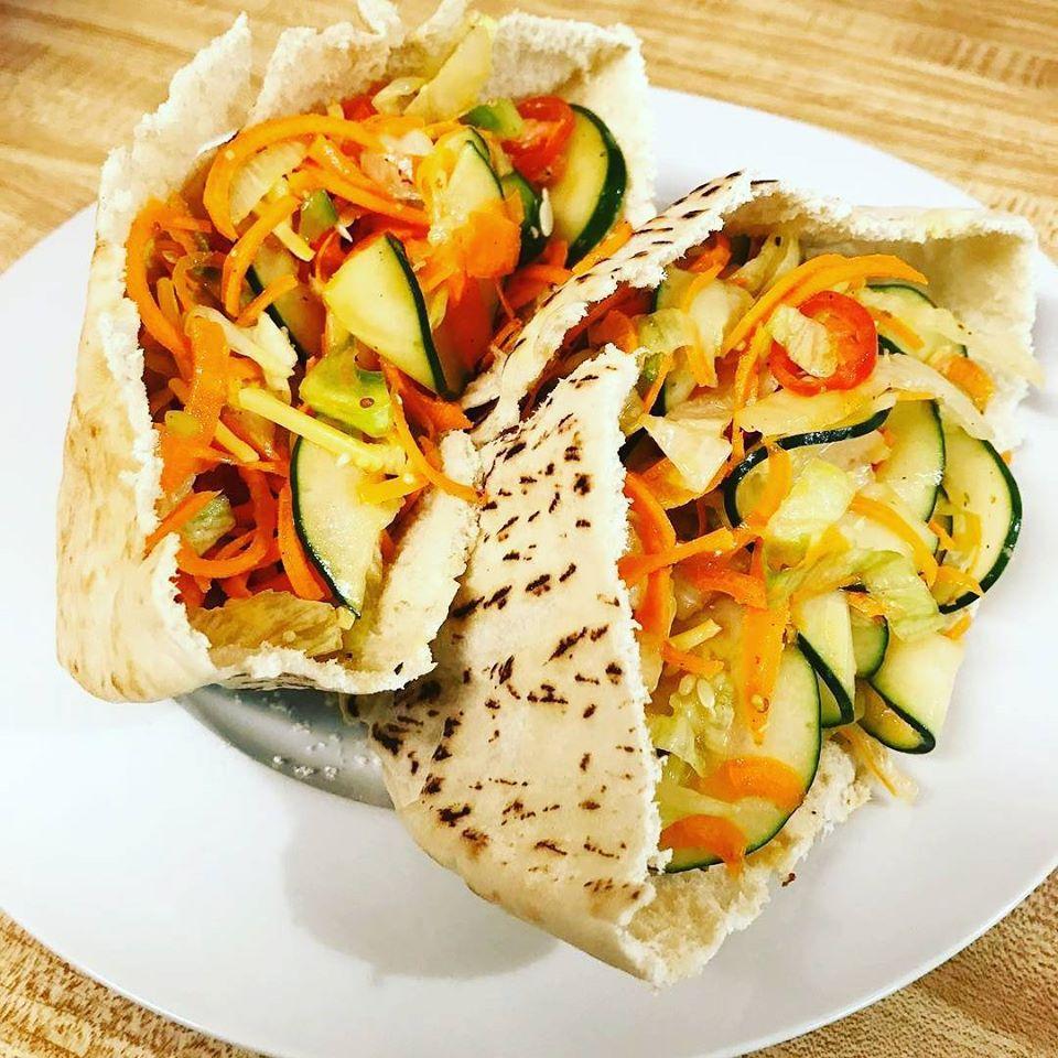 wrap cu legume spiralate